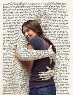 Literary hug