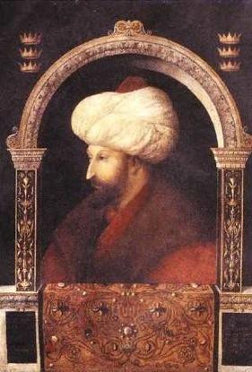 Sultan Mehmet II, Gentile Bellini, 1480