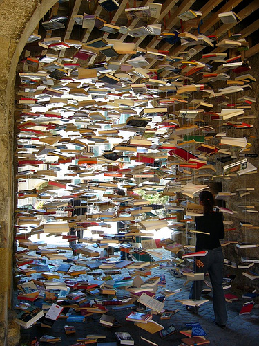 Raining books