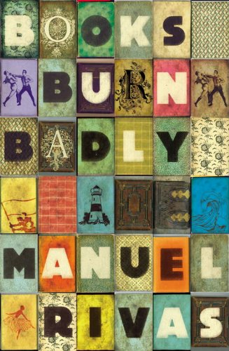 Cool Book Cover Ups : Nonsuch book lust books burn badly by manuel rivas